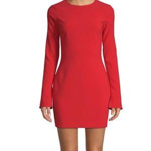 Likely (Saks/Neiman) sz 2 LS Manhattan Mini Dress
